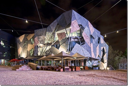Melbourne Federation Square - click to see an enlarged version of this image