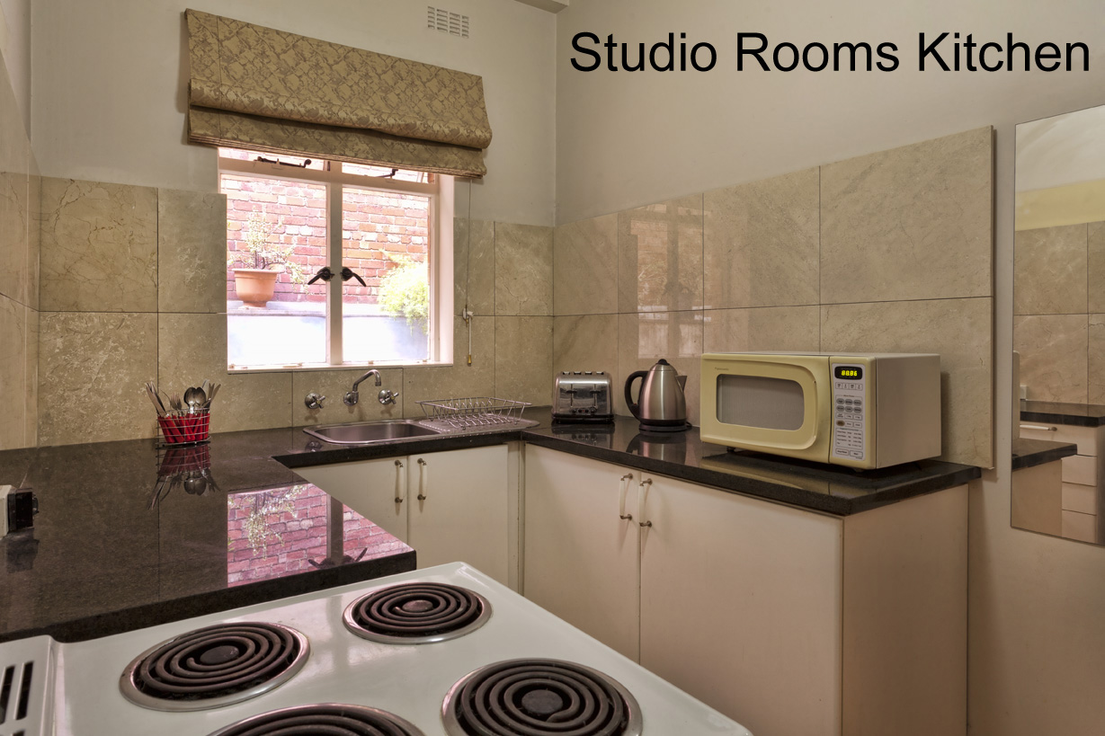 SPECIAL STUDIO SUITE: Kitchen - click to see an enlarged version of this image